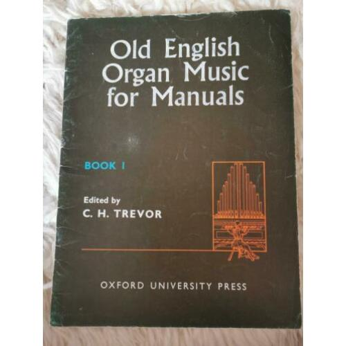 Orgel - Old English Music for Manuals - vol. 1 en 6